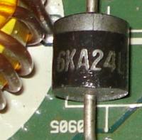 wzmacniacz bose 3510 c5a uszkodzona dioda prostownicza