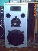 Kolumny głośnikowe własnej konstrukcji