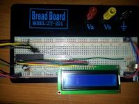 Atmega8 - wysyłanie danych do wyświetlacza LCD w jęz. C