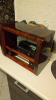 Pionier6161 - Tkanina głośnikowa do radia lampowego Pionier 6161