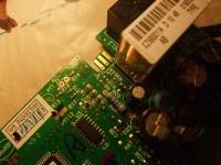 moduł elektroniczny w piekarniku Mastercook MF-760x