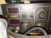 Spalony opornik w stacji hot air YH-852D+