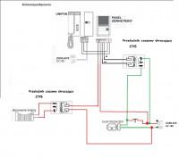 instalacja dwużyłowa i dodatkowy wyłącznik elektrozaczepu
