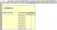 """VBA - Wyszukiwarak zwracająca listę uprawnień z tabeli (drugi plik """"dane&qu"""